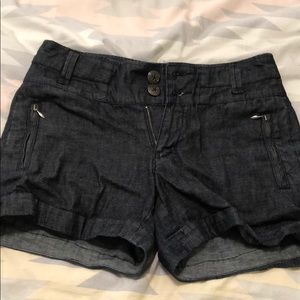 Anthropologie brand jean shorts